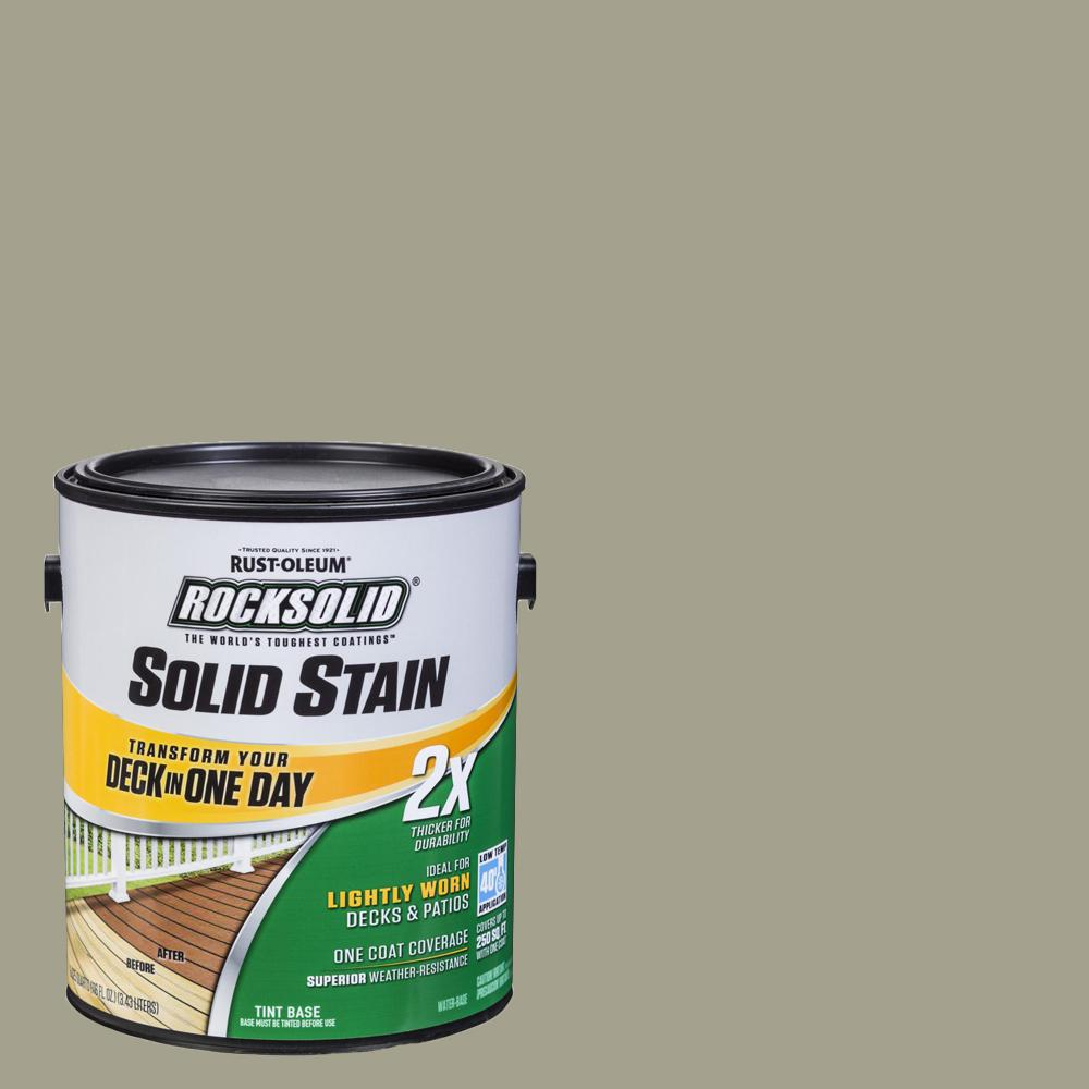 1 gal. Putty Exterior 2X Solid Stain