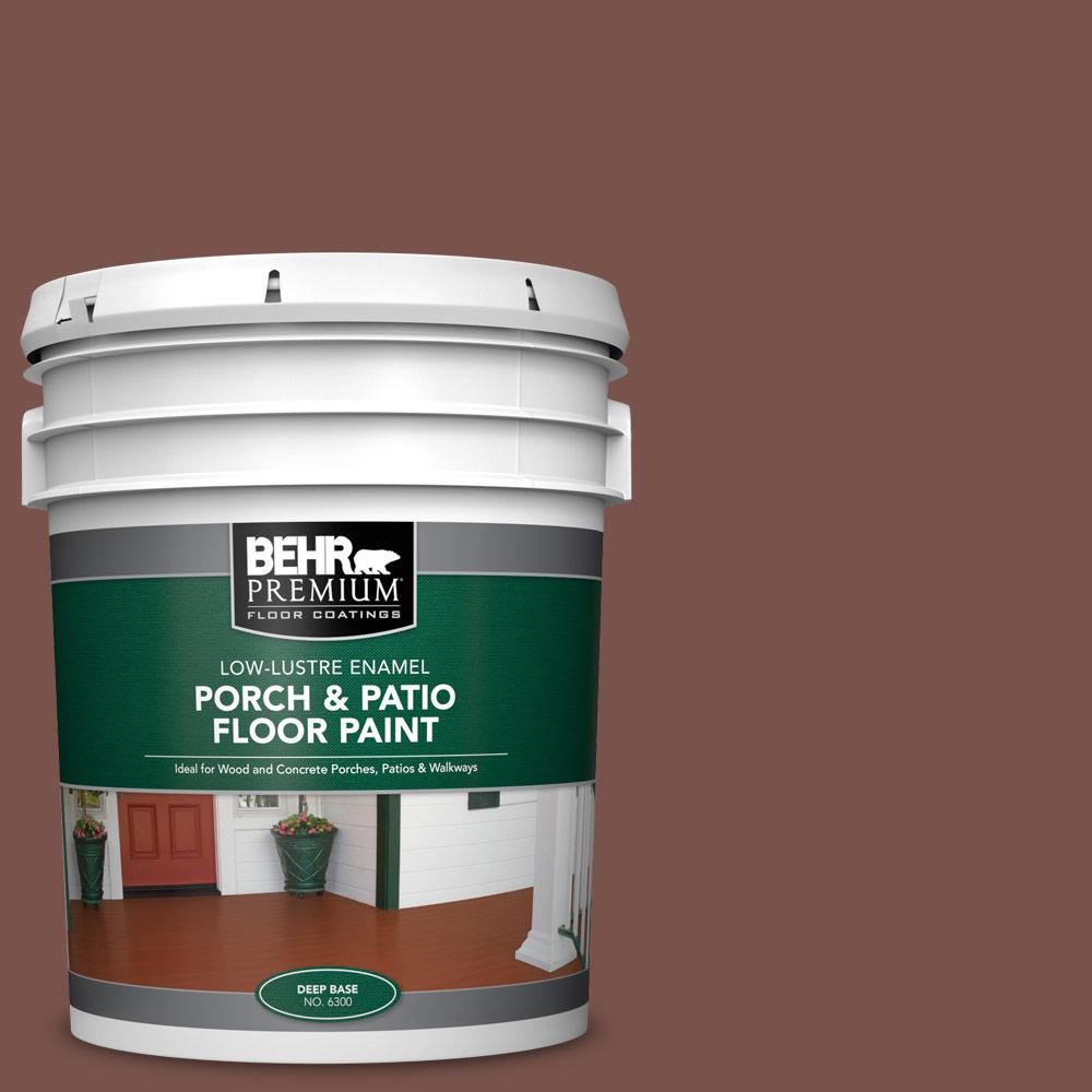 5 gal. #SC-135 Sable Low-Lustre Enamel Interior/Exterior Porch and Patio Floor Paint