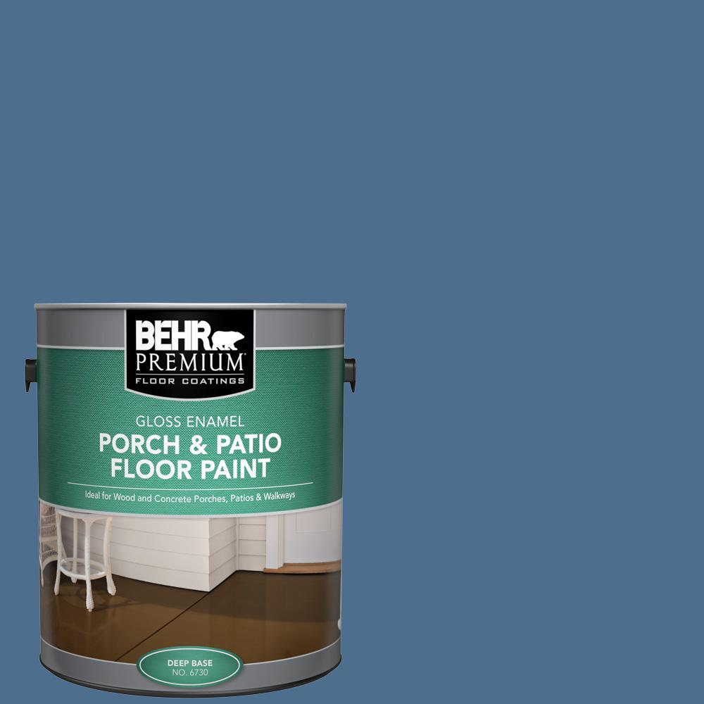1 gal. #PPF-47 Porch Song Gloss Enamel Interior/Exterior Porch and Patio Floor Paint