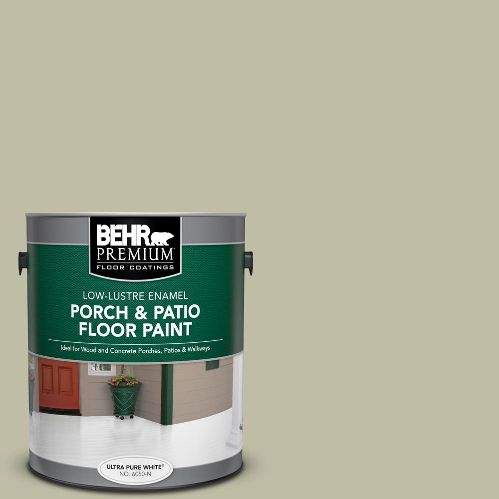 1 gal. #PFC-36 Garden Lattice Low-Lustre Enamel Interior/Exterior Porch and Patio Floor Paint
