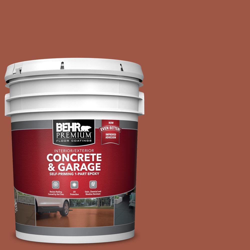 5 gal. #PFC-15 Santa Fe 1-Part Epoxy Satin Interior/Exterior Concrete and Garage Floor Paint